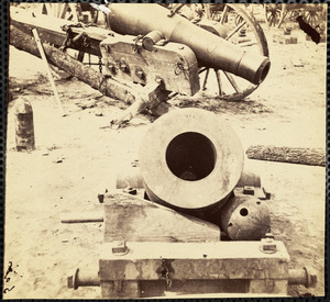 Confederate Artillery at Broadway Landing Appomattox River