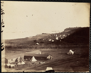 Acquia Creek Landing, Potomac River, February 1863