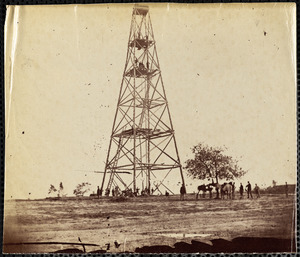 Signal Tower at Left of Bermuda Hundred