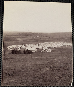 31st Pennsylvania Infantry Camp Near Fort Slocum Virginia
