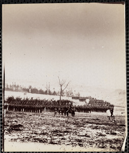 71st New York Infantry Camp Near Miner's Hill Virginia