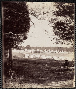 Camp of 10th Massachusetts Infantry Near Washington