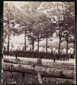 Camp of 25th New York Infantry Near Washington