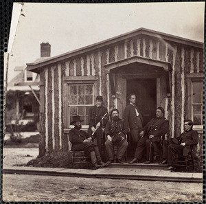 Officers of General Grant's Staff at City Point