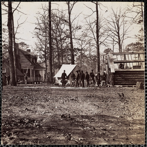 General Butler's Headquarters at Chapin's Farm near Dutch Gap Canal