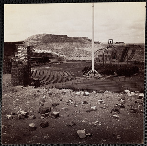 Fort Sumter Interior April 1865