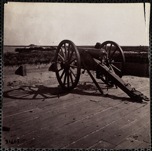 Fort Sumter View from Parapet facing Morris Isle