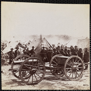 Confederate Artillery Captured at Hanover Courthouse, Virginia