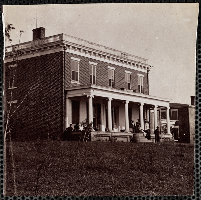 Aiken's House, Aiken's Landing, James River