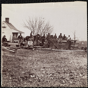 Camp of Negro Children, Aiken's Farm, James River
