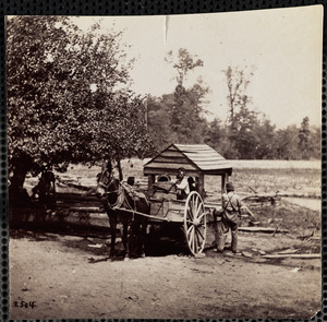 Soldiers filling their Water Cart, Army of Potomac