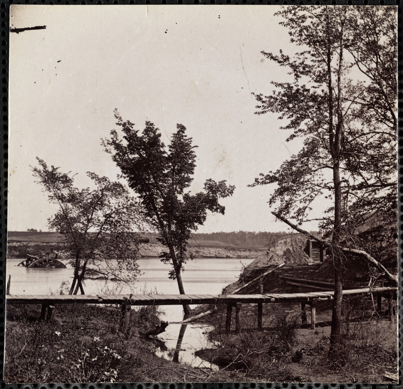 Confederate Battery on James River