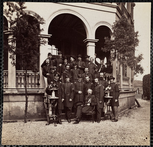 General J.R. Hatch and Staff, Charleston, South Carolina