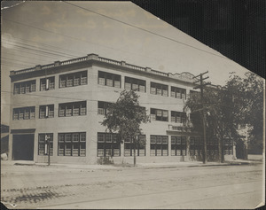 [illegible] department of the [Ford Motor] Company in Cambridge