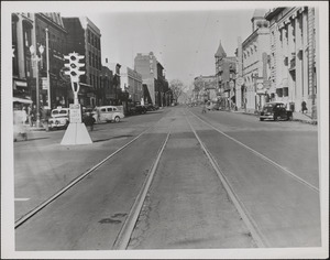 Mass Ave looking west from Prospect St.