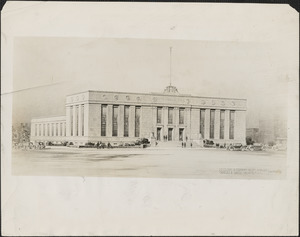 Proposed $364,500 post office for Cambridge