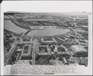 Proposed Kennedy Library site
