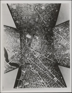 A map of Cambridge, Mass., made with the aerial camera