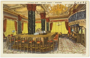 Lounge Bar -- Hotel Essex -- Boston