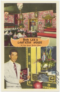 Bob Lee's Lantern House, 20 Tyler Street, Boston, Mass.