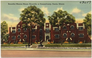 Beautiful Manias Manor, Knoxville at Pennsylvania, Peoria, Illinois