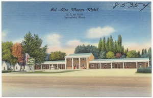 Bel-Aire Manor Motel, U. S. 66 South, Springfield, Illinois