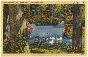Bird Sanctuary in Franke Park, Fort Wayne, Ind.