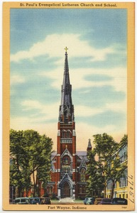 St. Paul's Evangelical Lutheran Church and School