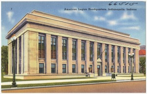 American Legion Headquarters, Indianapolis, Indiana