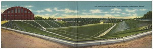 The stadium and field house, Butler University, Indianapolis, Indiana