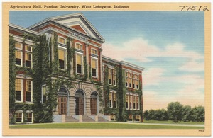 Agriculture Hall, Purdue University, West Lafayette, Indiana