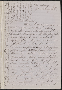 Sophia Hawthorne correspondence with James and Annie Fields, 1851-1904