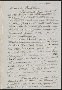 Elizabeth Palmer Peabody autograph letter to James Thomas Fields, 14 December [1868]