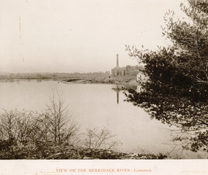 View on the Merrimack River, Lawrence