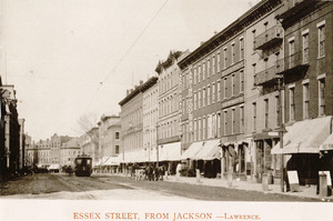 Essex Street, from Jackson, Lawrence