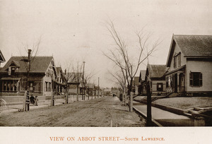 View on Abbot Street, South Lawrence