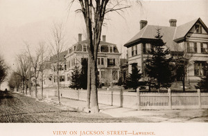 View on Jackson Street, Lawrence