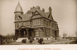 Residence of James C. Fisher, Lawrence
