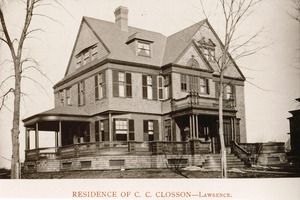 Residence of C.C. Closson, Lawrence