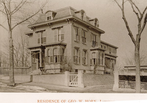 Residence of Geo. W. Horn, Lawrence