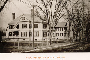 View on Main Street, Andover