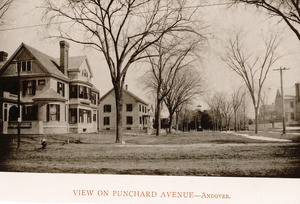 View on Punchard Avenue, Andover