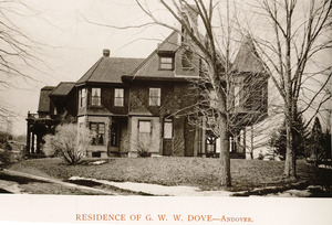 Residence of G.W.W. Dove, Andover