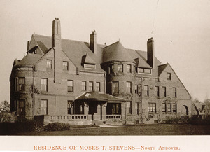 Residence of Moses T. Stevens, North Andover