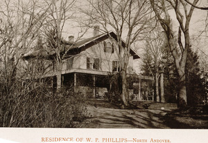 Residence of W.P. Phillips, North Andover