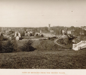 View of Methuen from the Tenney Place
