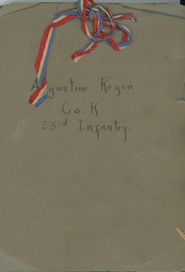 Augustine Regan Co. K 23rd Infantry