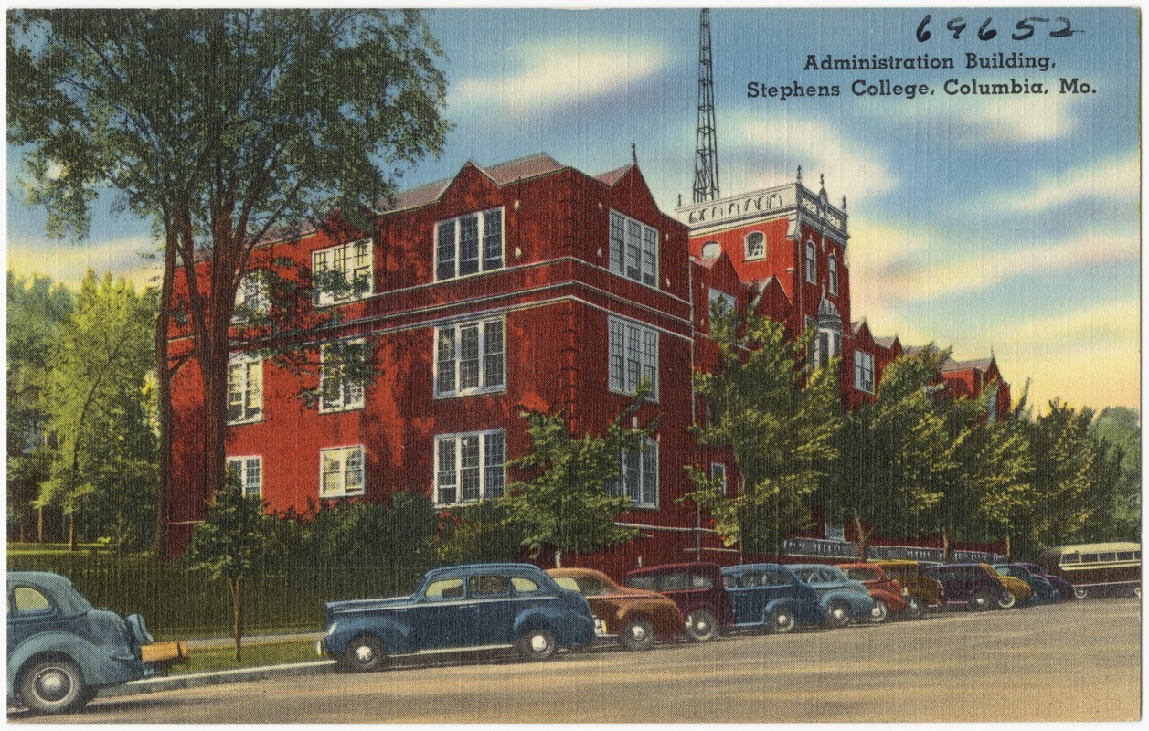 Administration building, Stephens College, Columbia, Mo.