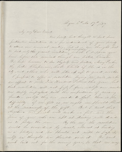 Letter from Abby Kelley Foster, Lynn, [Mass.], to Anne Warren Weston, 6th Mo[nth], 17th [day] / [18]37