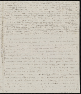 Letter from Deborah Weston, [Groton, Mass.], to Anne Warren Weston and Maria Weston Chapman, Monday morning, March 12th [through March 13], 1838